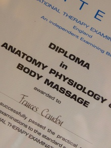 Deep Tissue Massage in Wedmore Somerset