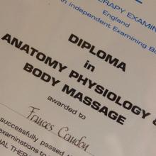 Deep Tissue Massage in Wedmore Somerset